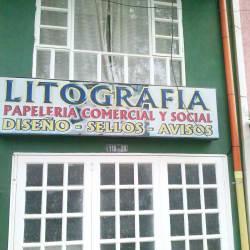Litografía Calle 139 en Bogotá