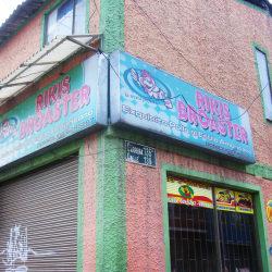 Rikis Broaster en Bogotá