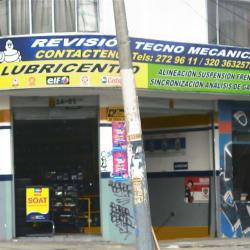 Lubricentro Avenida Primera de Mayo en Bogotá