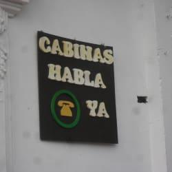 Cabinas Habla Ya en Bogotá