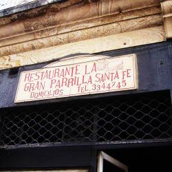 Restaurante La Gran Parrilla Santa Fe en Bogotá