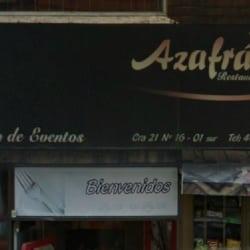 Restaurante Azafrán en Bogotá