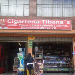 Cigarrería Tibana's en Bogotá
