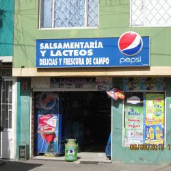 Salsamentarias y Lácteos Delicias y Frescuras del Campo en Bogotá