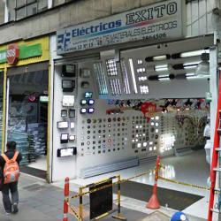 Fería Navideña Electricos Exito en Bogotá