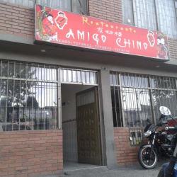 Restaurante Amigo Chino Calle 8 en Bogotá