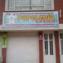 Papelería La Lola en Bogotá