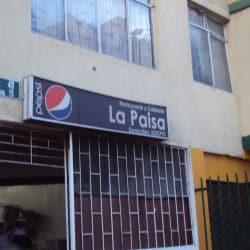 Restaurante y Cafetería La Paisa  en Bogotá