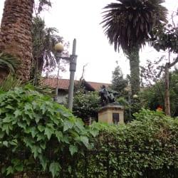 Plazuela de Don Rufino Jose Cuervo en Bogotá