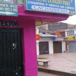 Librería Papelería Critica de la Razón Pura en Bogotá