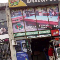 Líder Club Billares en Bogotá