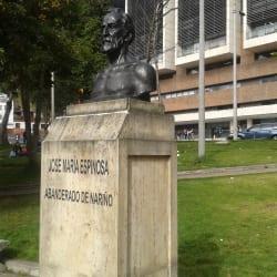 Monumento Jose Maria Espinoza  en Bogotá