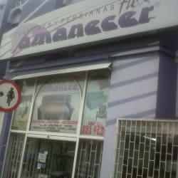 Amanecer en Bogotá