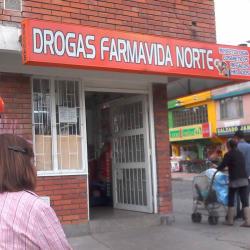 Drogas Farma Vida Norte en Bogotá