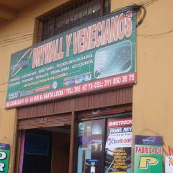 Drywall y Venecianos en Bogotá