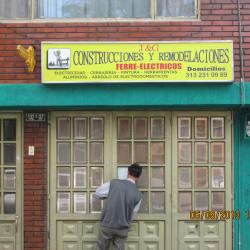 J y G Construcciones y Remodelaciones  en Bogotá