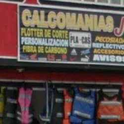 Calcomania JR en Bogotá
