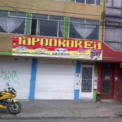 Japonkorea de la 50 en Bogotá