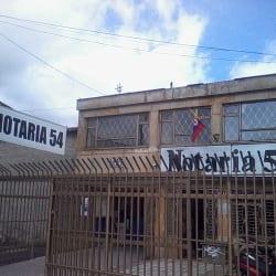 Notaría 54 - Carrera 10 en Bogotá
