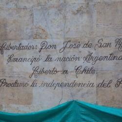 Monumento a José de San Martín  en Bogotá
