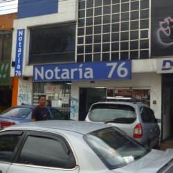 Notaría 76 - Calle 53 en Bogotá