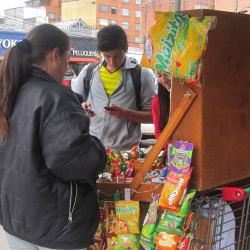 Carrito de Dulces Carrera 15 con 73 en Bogotá