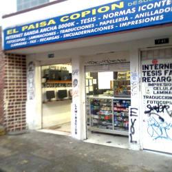 El paisa copion en Bogotá