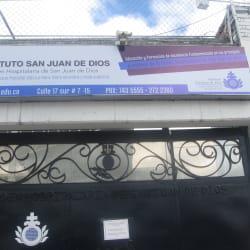 Instituto San Juan de Dios en Bogotá
