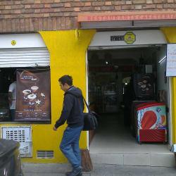 Cafetería Calle 61A en Bogotá