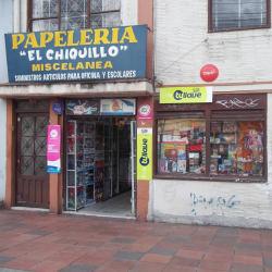Papelería Miscelánea El Chiquillo en Bogotá