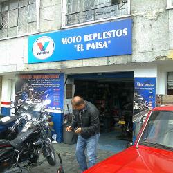 Moto Repuestos El Paisa en Bogotá