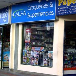 Droguería Alfa en Bogotá