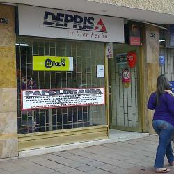 Deprisa Rotuenvios Ltda. Papelorama en Bogotá