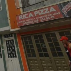 Rica Pizza Calle 57B  en Bogotá