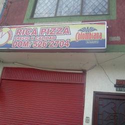 Rica Pizza Calle 163A en Bogotá