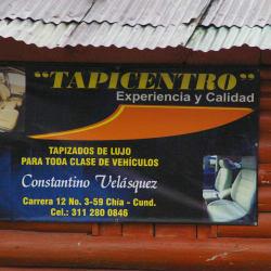 Tapicentro Costantino Velásquez en Bogotá