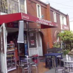 Restaurante Cafetería Carrera 72 en Bogotá