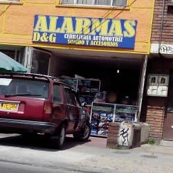 Alarmas D&G Carrera 24 en Bogotá