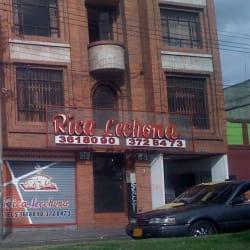 Rica Lechona en Bogotá