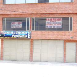 Canales y Bajantes Pensilvania Carrera 45 en Bogotá