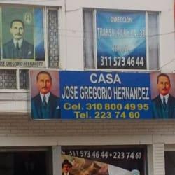 Casa José Gregorio Hernandez en Bogotá