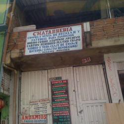 Chatarrería Calle 74B en Bogotá