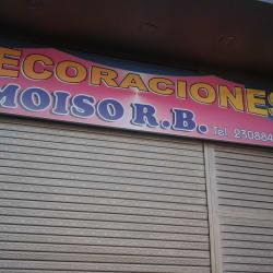 Decoraciones Moiso en Bogotá