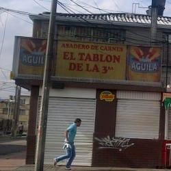 Asadero de Carnes El Tablón de la Tercera en Bogotá