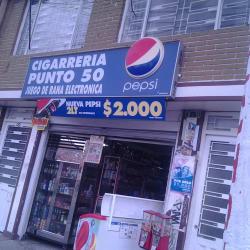 Cigarrería Punto 50 en Bogotá