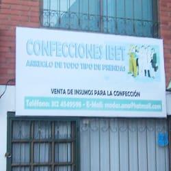 Confecciones Ibet en Bogotá