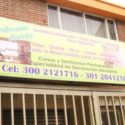 Confecciones Mariafer en Bogotá