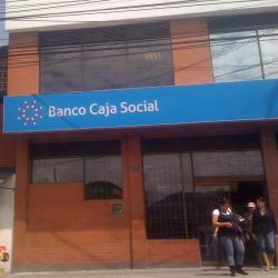 Banco Caja Social  Carrera 1 con 74C en Bogotá