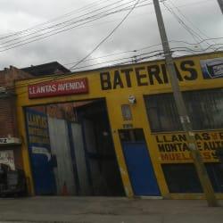 Llantas Avenida Baterías en Bogotá
