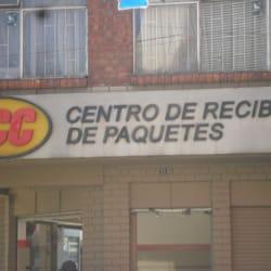 TCC Centro de recibos de paquetes en Bogotá